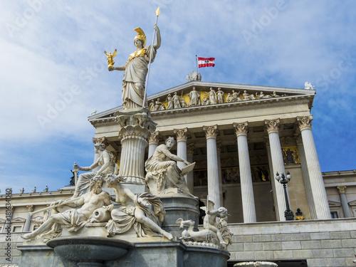 Foto op Plexiglas Wenen austria, vienna, parliament
