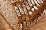 bread slices of dark bread