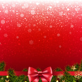 Christmas Red Poster - 181638470