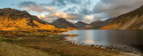 Moody evening light at Wastwater in the English Lake District. - 181646099