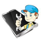 Master of repair smartphones - 181657051