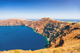 Panoramic view of Santorini island, Greece. - 181665071