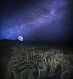 Panoramic view of Santiago de Chile - 181678851