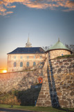 fortress of Akershus - a castle in Oslo - 181679251