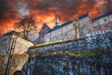 fortress of Akershus - a castle in Oslo - 181679272