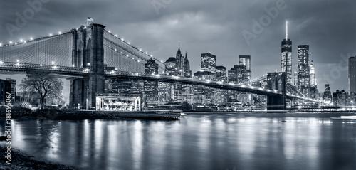 Fototapeta Panorama New York City at night