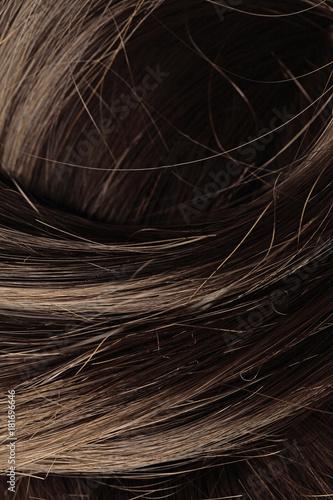 Foto op Aluminium Kapsalon human hair