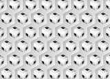 3d solid geometric pattern - Illustration, Wallpaper, Backgrounds, Pattern, Abstract Cube Shape, Geometric Shape, Shadow, Shape, Steps, design, fabric printing - vector