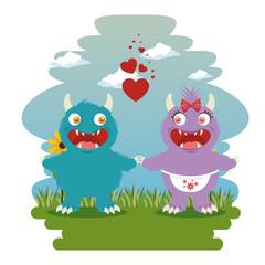 funny dragon cartoon vector illustration graphic design