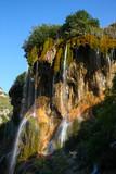 View at Prince Crown waterfalls, Gedmysh river, Kabardino-Balkar Republic, Caucasus, Russia