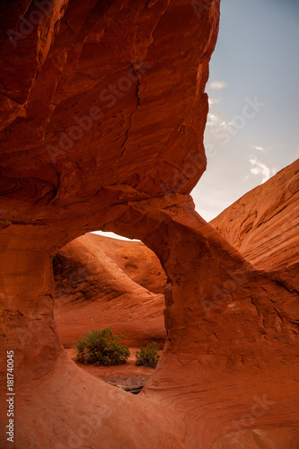 Foto op Canvas Rood paars Anaszai Arches