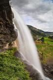 Steinsdalsfossen Falls in Norheimsund - 181757442