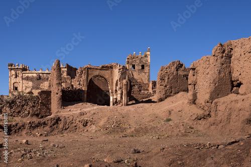 Foto op Canvas Marokko Ruine de palais Marocain