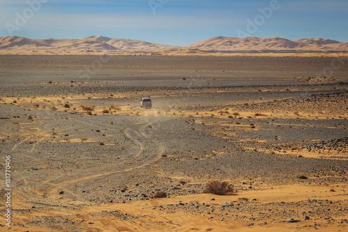 Fotobehang Marokko A la découverte du désert Marocain