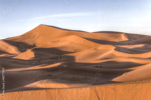 Papiers peints Maroc Dunes de Merzouga