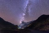Beautiful Milky Way in Jomsom  Muktinath  Annapurna Circuit trek in Nepal