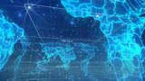 Spherical Digital Broadcasting World Map
