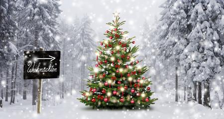 Richtung Weihnachten