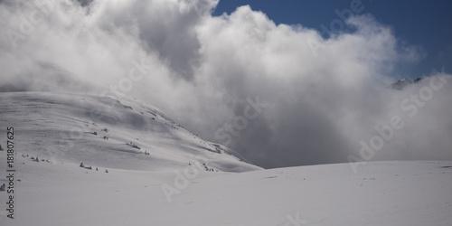 Aluminium Canada View of snowcapped mountain, Whistler, British Columbia, Canada