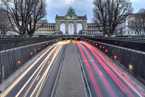 Foto op Canvas Brussel Jubelpark