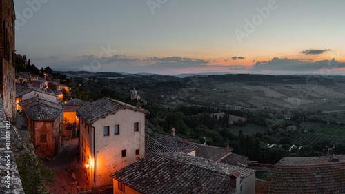 Fotobehang Toscane Montepulciano