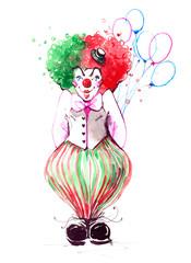clown © okalinichenko