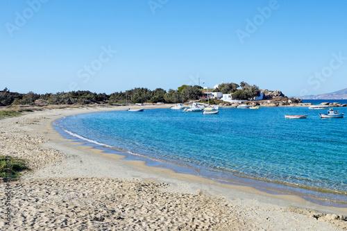 Foto op Plexiglas Cyprus Agia Anna beach of Naxos, Greece