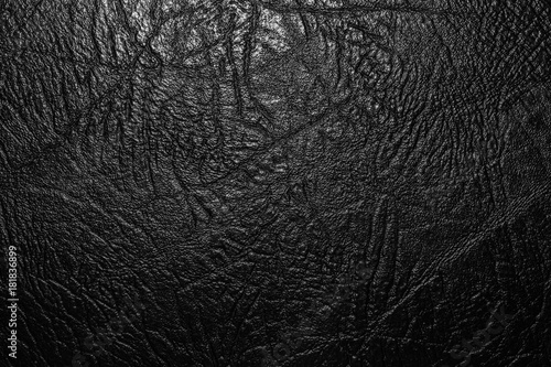 Fototapeta relief texture of artificial leather, close-up abstract background