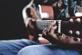 musician guitar hand - 181839203