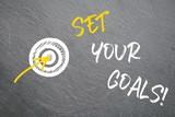 Set your goals - 181857607