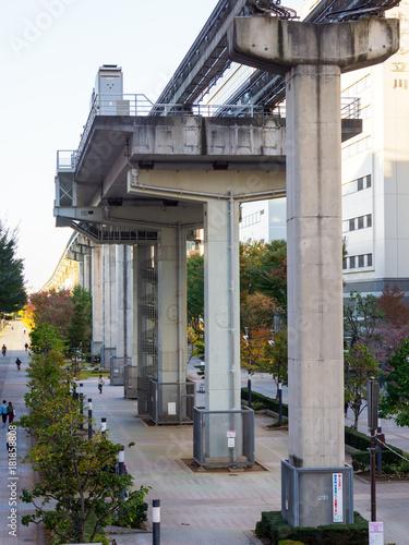 Aluminium Spoorlijn 立川南駅