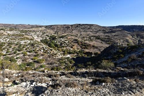 In de dag Cyprus Laona Ebene - Avakas Wanderrunde