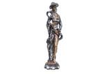 Statuette. An elderly Asian man. - 181866800