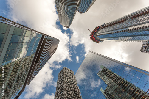 Highrise buildings in Toronto, Canada Poster