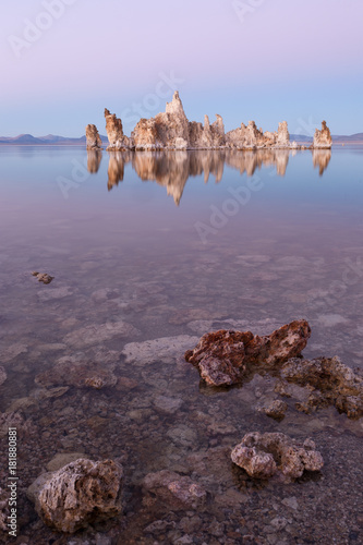 Foto op Plexiglas Purper Mono Lake Sunset