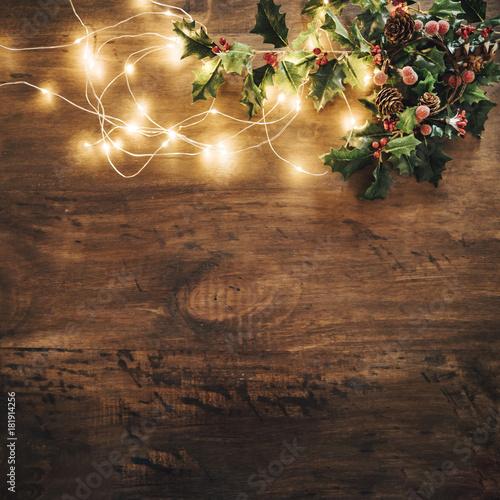 Fototapeta noel, christmas, guirlande