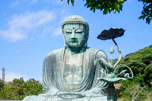 Foto op Canvas Boeddha The Great Buddha Kamakura
