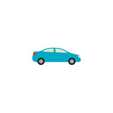 Car Icon Vector Isolated
