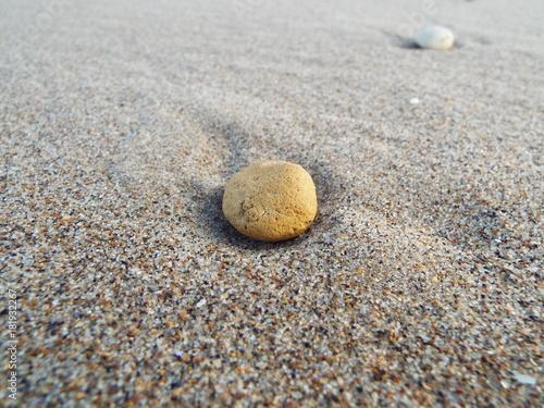 Foto op Canvas Stenen in het Zand Sand Stone 2