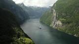 Breathtaking view of Sunnylvsfjorden fjord - 181944093
