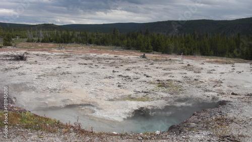 Foto op Plexiglas Grijze traf. biscuit bassin parc national de yellowstone