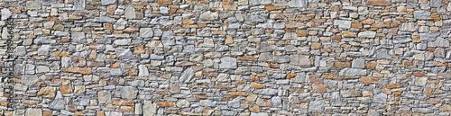 Tuinposter Baksteen muur Schöne Natursteinmauer