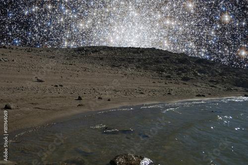 Keuken foto achterwand Nasa Alien ocean