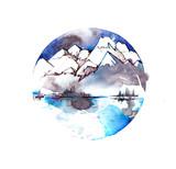 mountains - 181968044
