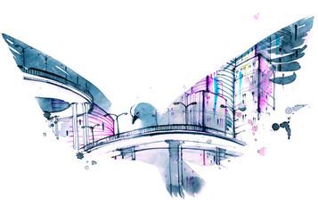 modern city © okalinichenko