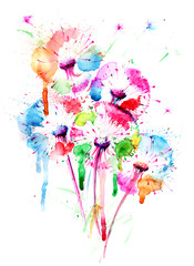 dandelions © okalinichenko