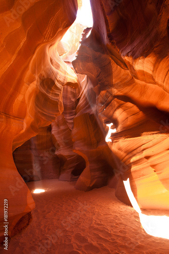 Staande foto Rood traf. Antelope Canyon