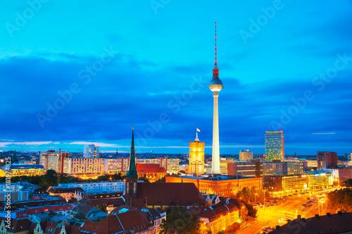 Papiers peints Berlin Aerial overview of Berlin