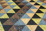 Mosaic tessellation texture on the floor - 181975438