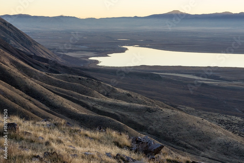 Foto op Canvas Zwart Goshen Bay Utah